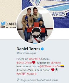 Hincha de Independiente Santa Fe y jugador de la Selección