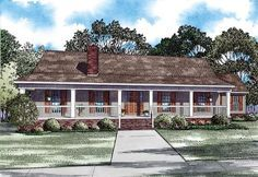 House Plan 82293 | Plan with 2247 Sq. Ft., 3 Bedrooms, 2 Bathrooms, 2 Car Garage