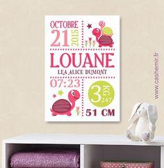 Cadeau de naissance bébé, stats de naissance, décoration chambre enfant garçon fille - Fichier Imprimable - n°8 : Décoration pour enfants par cashemir