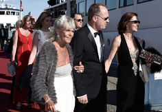 The Princess Birgitta of Sweden with family
