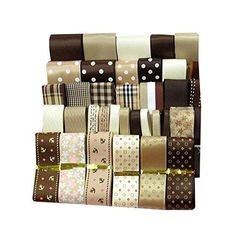 36pcs XUKE 36yd Brown Unique Style Ribbon >>> You can find out more details at the link of the image.