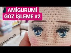 Welcome to my channel MK - Fun On my channel you will find awesome ideas with the best DIYs projects, prank and trick, hack life, decor life hacks and homema. Crochet Dolls, Crochet Hats, Handmade Soft Toys, Eye Tutorial, Diy And Crafts, Diy Projects, Make It Yourself, Knitting, Pattern
