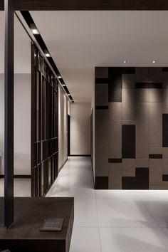 LCGA | ZHONGHE APARTMENT Interior Design Inspiration, Home Interior Design, Interior Architecture, Ceiling Design, Wall Design, House Design, Interior Walls, Interior And Exterior, Casa Magnolia