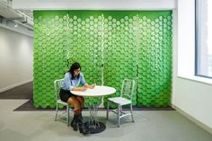 Link wallcovering by Gensler and FilzFelt » Retail Design Blog