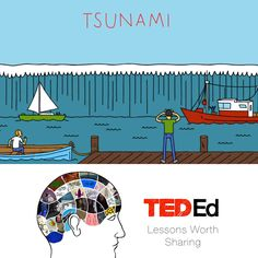 Ever wondered what causes those huge, destructive waves called tsunamis? This 4-minute animated video will give students a solid understanding of this amazing, scary natural phenomenon.