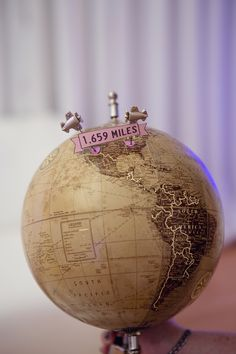 Where we were when we met online | travel themed wedding |  La Bella Vita Photography