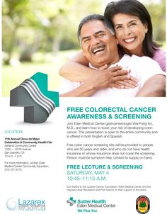 Part of the Lazarex mission is to promote awareness about cancer prevention, early detection and clinical trials through community education and outreach. We partnered with Eden Medical Center to offer this community event in San Leandro, CA.