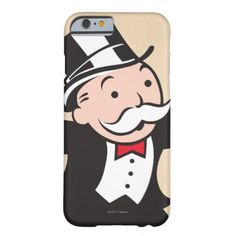 Rich Uncle Pennybags 1 Barely There iPhone 6 Case - retro gifts style cyo diy special idea