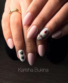Kitty nail design