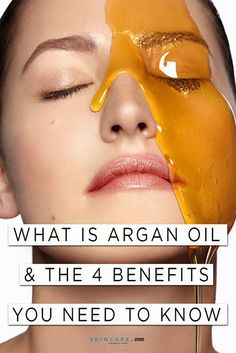 Argan oil is popular for hair care, but it also boasts amazing benefits for your face and skin! We share the top benefits of argan oil for your skin—plus, how to use argan on your face! Natural Facial, All Natural Skin Care, Facial Oil, Organic Skin Care, Beauty Regimen, Skin Care Regimen, Skin Care Tips, Argan Oil Eyes, Argan Oil Skin Benefits