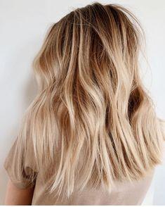 Hair Inspo, Hair Inspiration, Hairstyle Look, Hairstyle Ideas, Hairstyles, Medium Blonde Hair, Dream Hair, Hair Goals, Her Hair