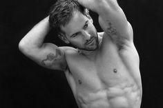 Model presenter Janez Vermeiren shot by Talitha Snow