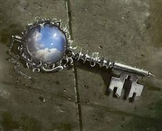 Cloud Key by Trevor Hairsine Under Lock And Key, Key Lock, Antique Keys, Vintage Keys, Cles Antiques, Old Keys, Instagram Baddie, Knobs And Knockers, Key To Happiness