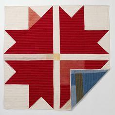 folk fibers quilt - i love the boldness