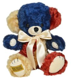 Merrythought Cheeky Patriot limited edition English collectors teddy bear | eBay My Teddy Bear, Bear Toy, Blue Nose Friends, Tatty Teddy, Old And New, Cuddling, Red And White, Plush, Teddybear