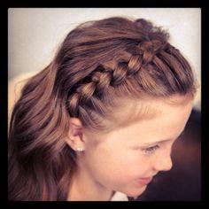 Lace Braid Headband | Cute Girls Hairstyles