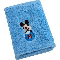 Disney Baby Mickey Mouse Cuddle Plush Blanket