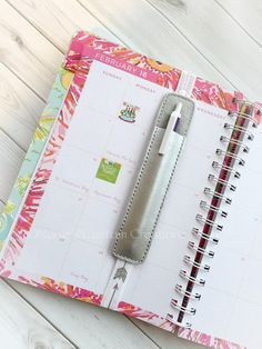 Planner Pen Holder - Planner Bookmark - Planner Pens - Planner Bands- Planner…
