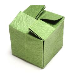 54 best Ideas for origami cube awesome Origami Cube, Origami Boat, Origami And Kirigami, Origami Paper Art, Origami Stars, Paper Crafting, How To Make Origami, Useful Origami, Origami Easy