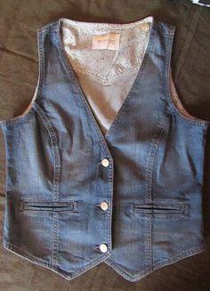 Kup mój przedmiot na #vintedpl http://www.vinted.pl/damska-odziez/inne-ubrania/15806510-jeansowa-kamizelka-m-jak-nowa