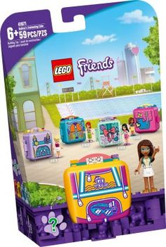 Lego Creative, Creative Gifts, Cubes, Lego Friends Sets, Mini Pool, Lego News, Just Because Gifts, Birthday Gifts For Kids, All Toys