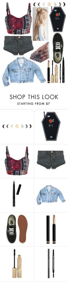 """Untitled #44"" by sofi-the-first1912 on Polyvore featuring OneTeaspoon, Bobbi Brown Cosmetics, GUESS, Vans, Gucci, Stila and Burberry"