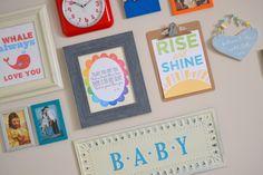 Baby Boy Nursery Decor on Little Miss Momma.