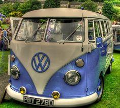 Excellent example of the VW Camper Van #CarFlash