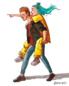 Omg I luv this art. Its billie and phineas so cccccuuuuttttteeeeee. Grammys: best sibling award goes soooooo Billie and phineas! Billie Eilish, Dibujos Cute, Phineas, Japanese American, Fan Art, Favorite Person, Me As A Girlfriend, Art Girl, How To Fall Asleep