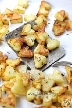 13. le #coeur en forme de #pommes de terre - 43 #heart Shaped #Foods pour…