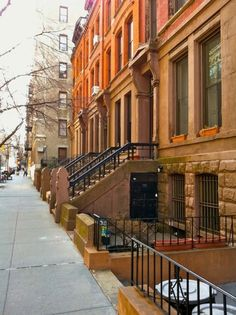 Brooklyn Brownstones - looks like my old street