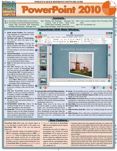 Powerpoint 2010 Download this review guide and improve your grades. #education…