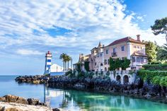 Santa Marta Lighthouse, Cascais, Portugal puzzle in Great Sightings jigsaw puzzles on TheJigsawPuzzles.com. Play full screen, enjoy Puzzle of the Day and thousands more.