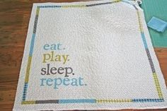 Baby Life Quilt pattern and how to make it Cute Quilts, Baby Quilts, Quilting Tutorials, Quilting Designs, Quilting Ideas, Bed Quilt Sizes, Backing A Quilt, Quilt Labels, Baby Center