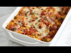 How to Make Fresh Vegetable Lasagna - Vegetable Lasagna Recipe http://www.inspiredtaste.net/22401/fresh-vegetable-lasagna-recipe/