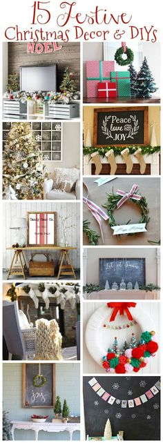 15 Festive Christmas