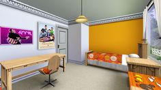 kids room sims 3