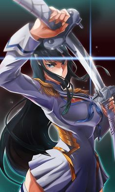 Satsuki Kiryuin from kill la kill  ,awesome art  #SatsukiKiryuin #killlakill #cosplayclass