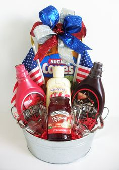 we scream for ice cream bucket ice cream add marble slab gift card or dq pto today auction basket ideas