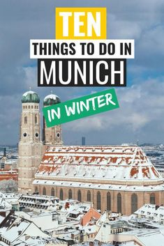 The 10 best things to do in Munich in Winter. Munich in December can be a magical time. The best places to visit in Munich in winter are those were you can enjoy the snow. Munich Photography spots are included in this Munich travel guide as well. Tahiti, Bora Bora, Winter Travel, Summer Travel, Best Places To Travel, Cool Places To Visit, Visit Munich, Europe Travel Guide, Travel Destinations