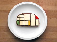 Combining art and food - at what point do you hesitate to eat at all ?