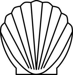 Free Letterheads: shell, seashell, scallop, sea
