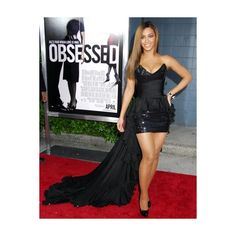 Beyonce's 'Obsessed' Panned by Critics ❤ liked on Polyvore