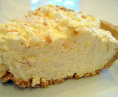 Quick and Easy Tropical Coconut Creme Pie ~ The great thing about this recipe is that you do not have to slave all day in the kitchen-just like the title says, it is quick and easy!