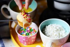 oh this? this is just CUPCAKE FONDUE. no big deal.