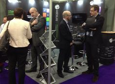 Websure's exhibition stand at BIBA.