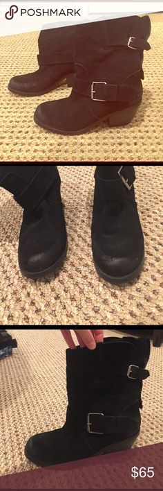Dolce Vita boots These are a size 9. Worn only a few times. The work look is how they came. In perfect condition Dolce Vita Shoes Heeled Boots