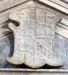 Stemma Malatesta, Cappella dei caduti. Tempio Malatestiano, Rimini.