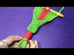 DIY macrame wall hanger || How To Make Macrame Wall Hanger.. - YouTube