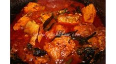 Spicy Fish cubes curry famous in Central Travancore